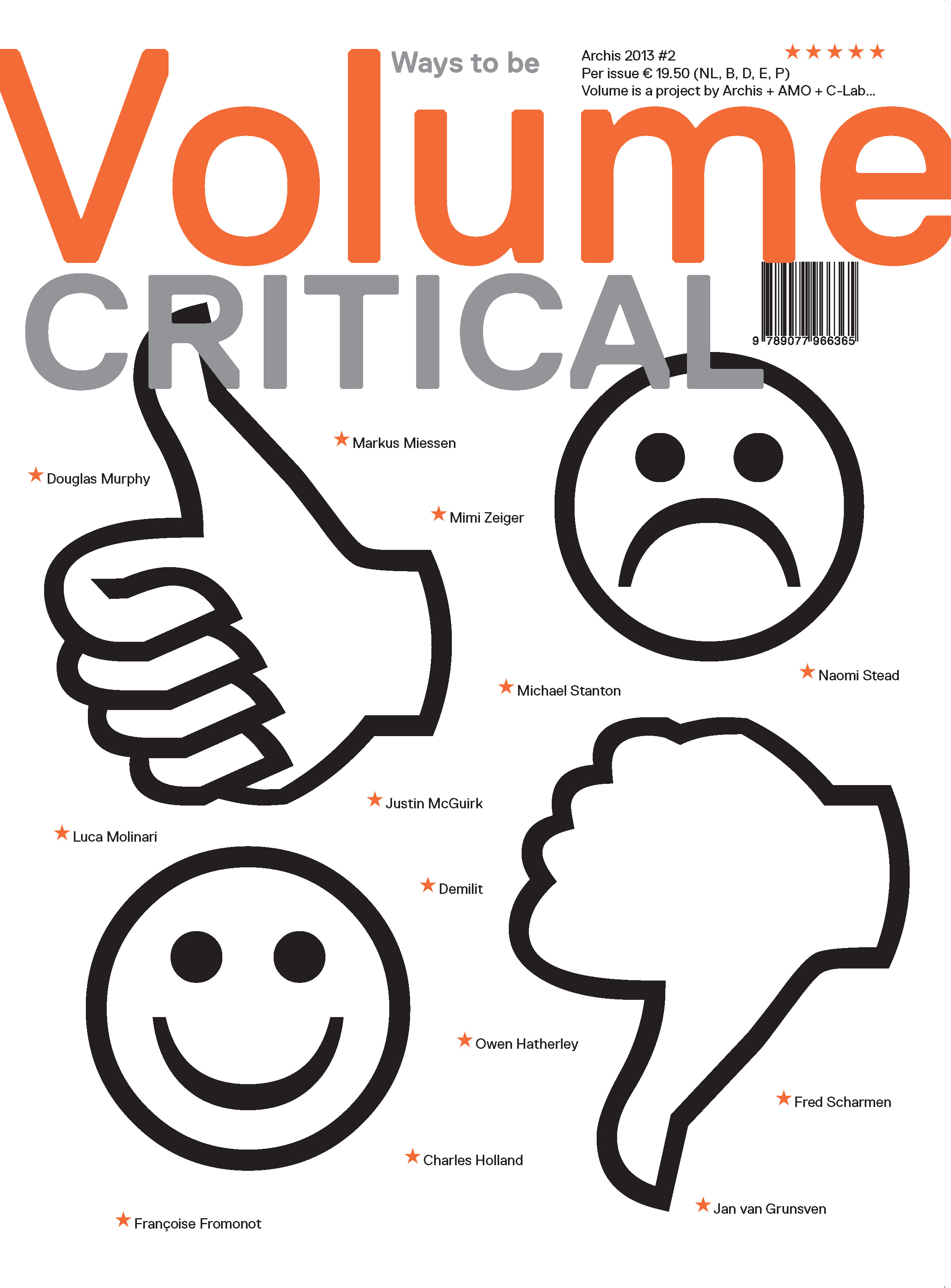 Volume #36: Ways to Be Critical