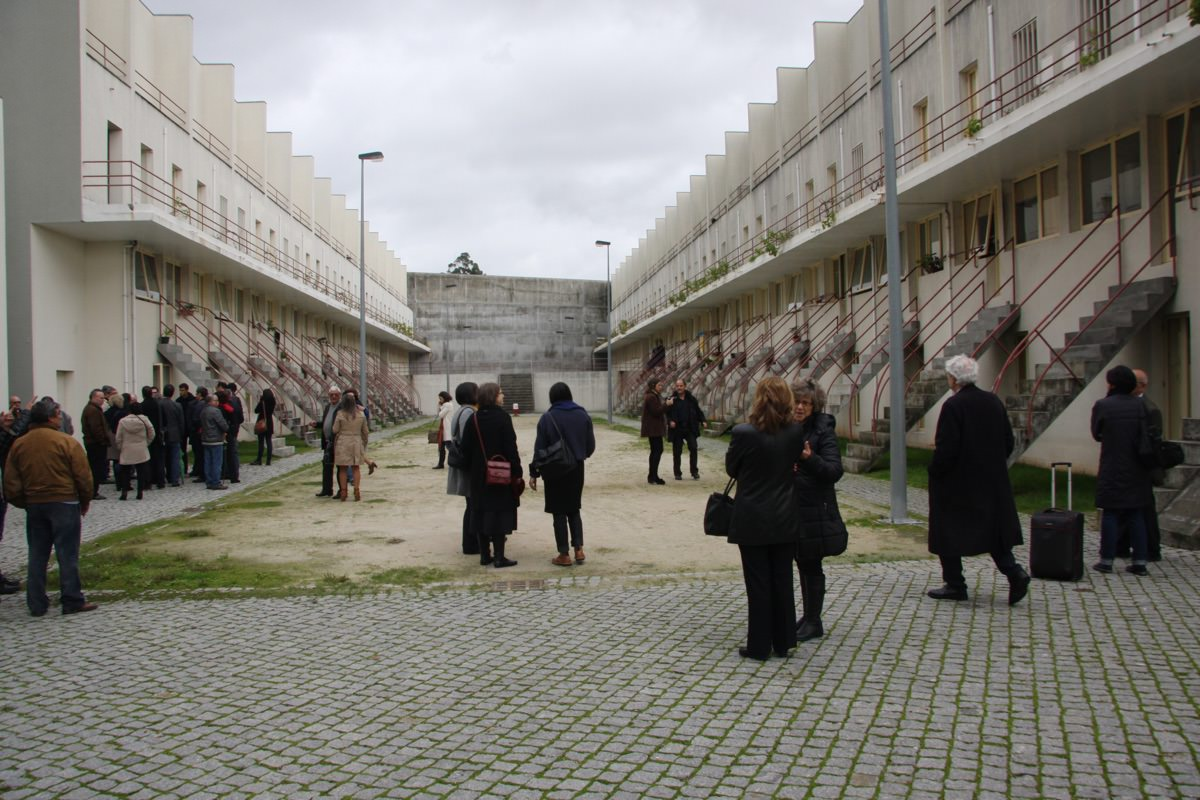 Álvaro Siza's restored Bouça complex in Porto from 1975, now a popular destination for architects (photo November 2014). Photo: Nelson Mota