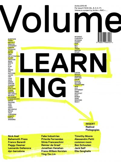 Volume 45: Learning