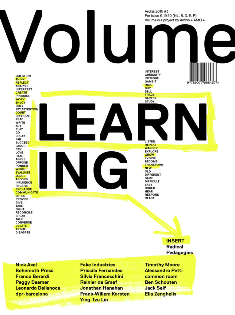 Volume #45 Learning