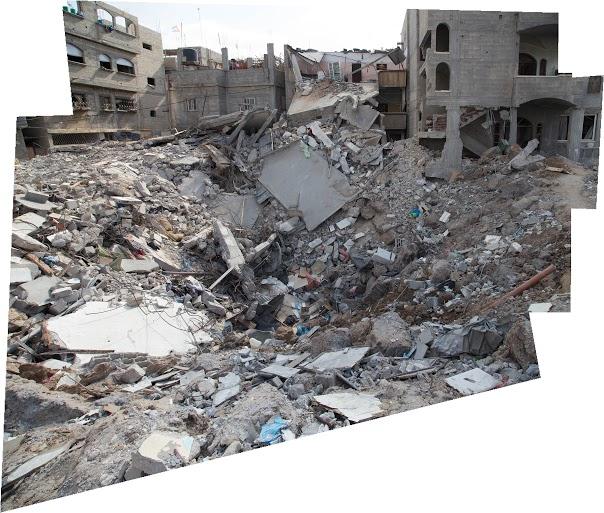 Untitled Photomosaic, 2015 Gaza Workshop, Architecture & Media