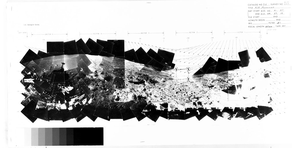 Image from Surveyor 7 NASA Space Science Data Coordinated Archive