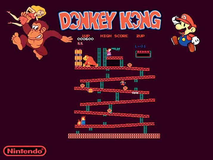 Donkey Kong (1981) allows users to 'jump', making it the first platformer.