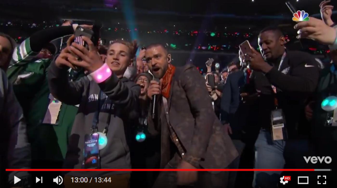 Justin's Super Bowl