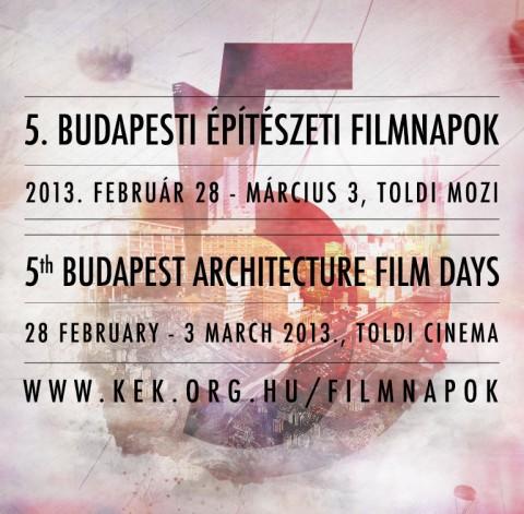 Budapest Architecture Film Days 2013