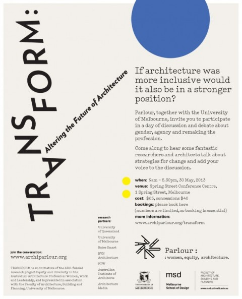Transform: Altering the Future of Architecture