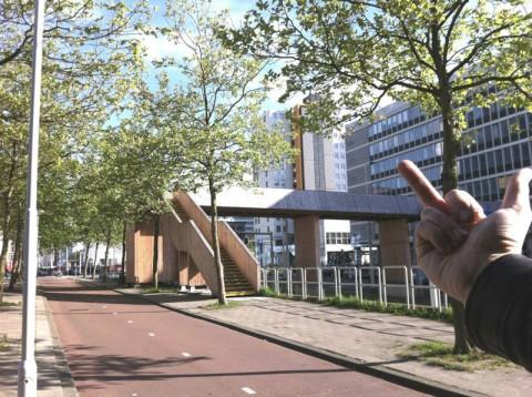 One 'dislike' for Luchtsingel, Rotterdam