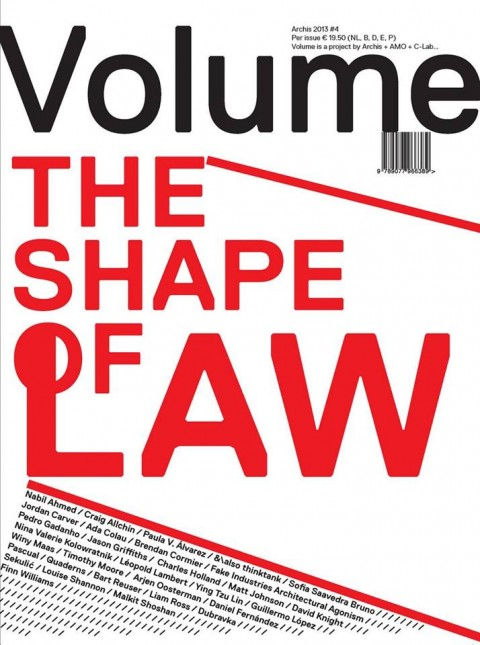 Volume #38: The Shape of Law