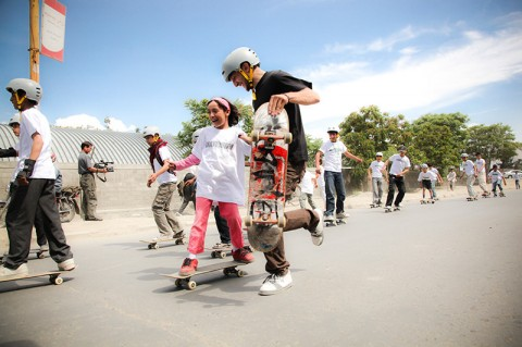 Skateistan: one of the featured projects