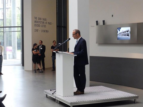 Photo report of the good cause opening in munich volume for Munchen architekturmuseum