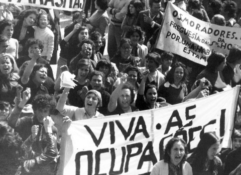 Demonstration in Porto, 17 May 1975. Source: Archive of Centro de Documentação 25 de Abril (Collection A. Alves Costa) – University of Coimbra