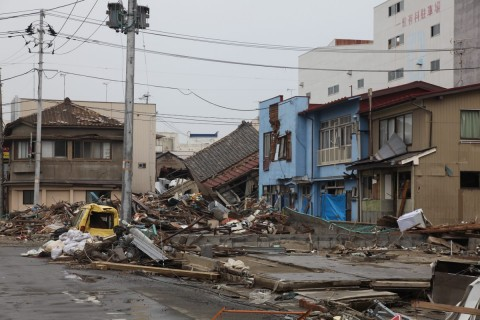Destruction Ishinomaki