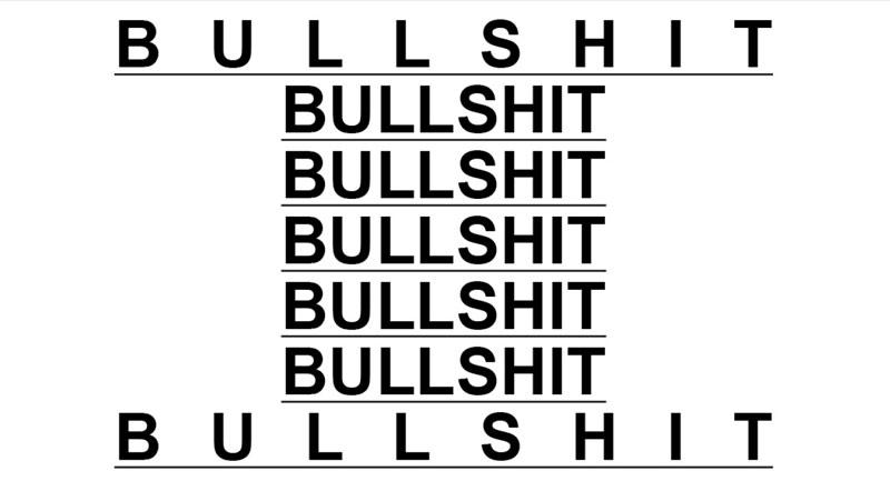 Designer Bullshit