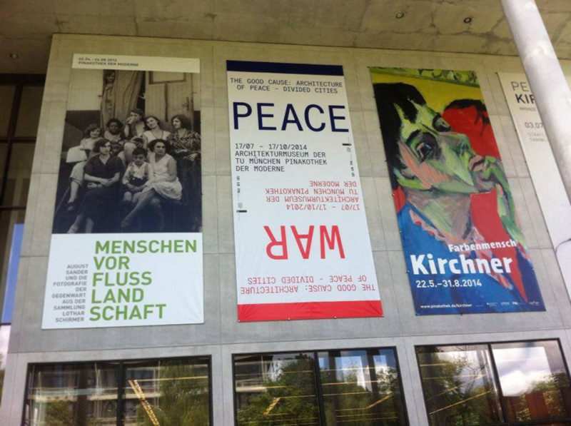 'The Good Cause: Architecture of Peace — Divided Cities' will be running until 17 October