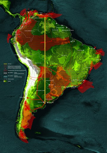 The Great South American Pipeline, Godofredo Pereira and Samaneh Moafi, 2014.
