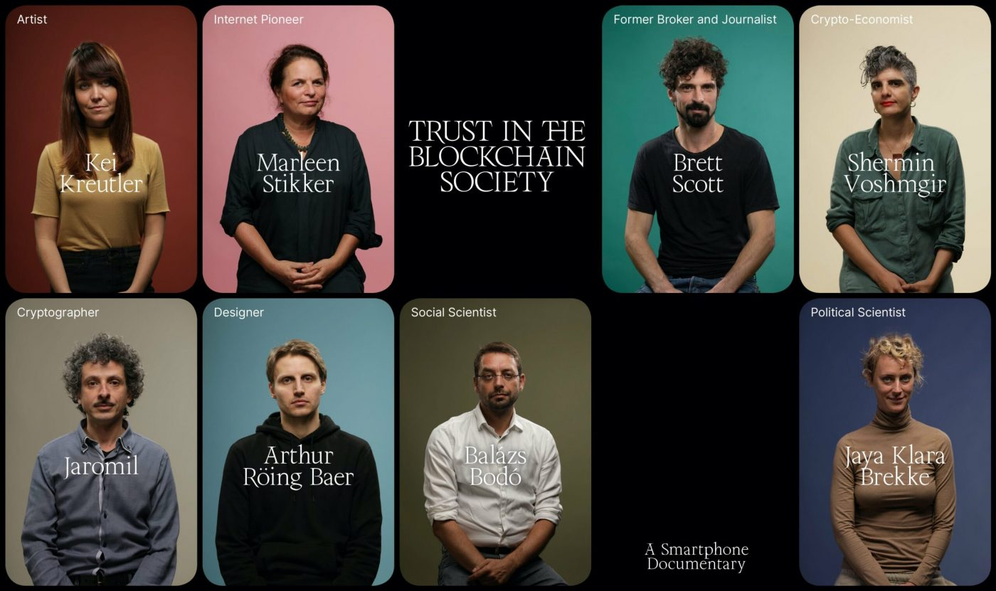 Exploring Trust in Technology: New documentary Trust in the Blockchain Society launched