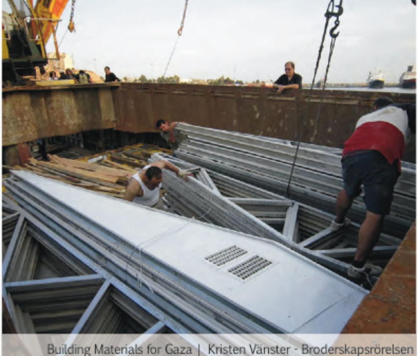 PALESTINE: Gaza-Repair Strategies