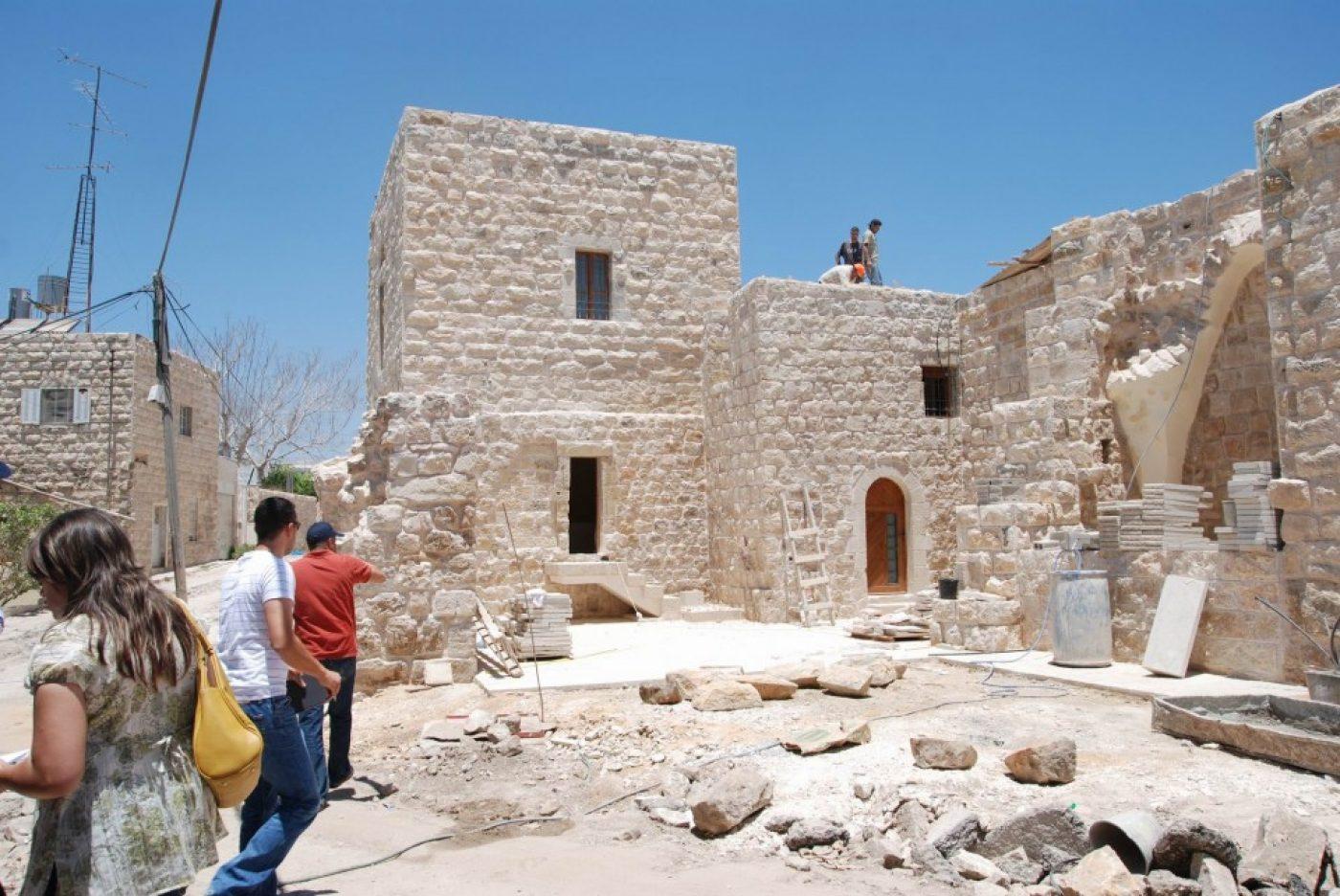 PALESTINE: Birzeit Rehabilitation Project