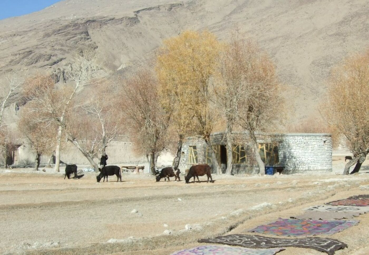 AFGHANISTAN: Visitors Centre in Pamir-i-Buzurg Wildlife Reserve