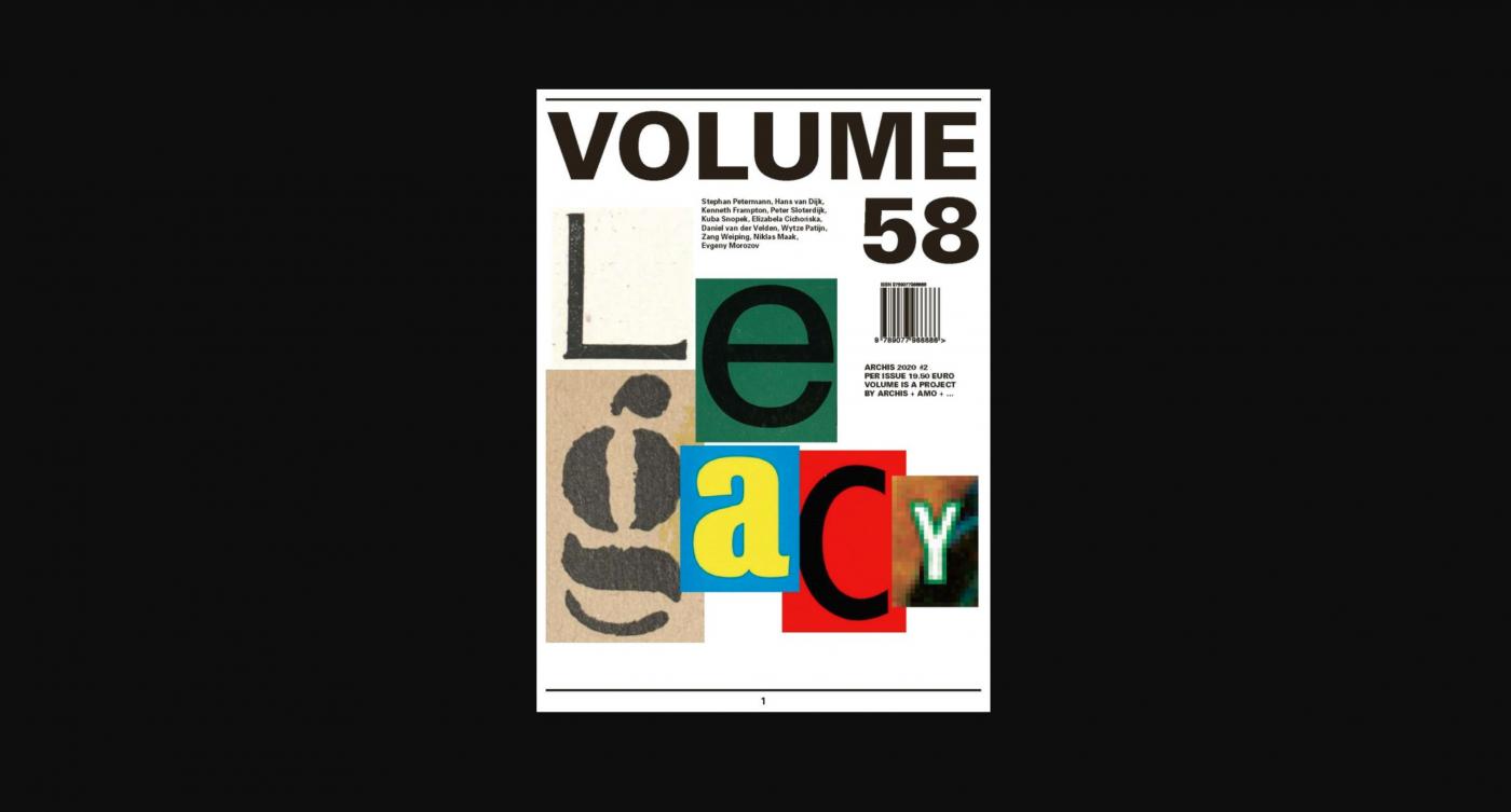 Volume 58 Legacy: Editorial